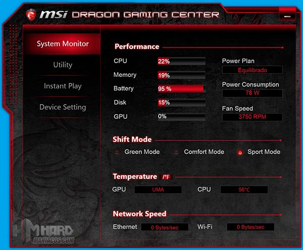 MSI-GS60-2QE-Ghost-Dragon-Gaming-Center,-System-Monitor