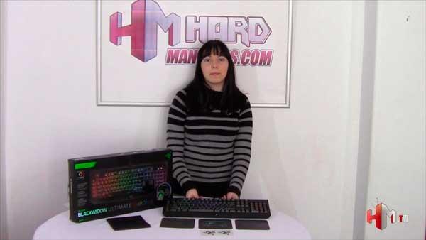 Video review Razer BlackWidow Ultimate Chorma