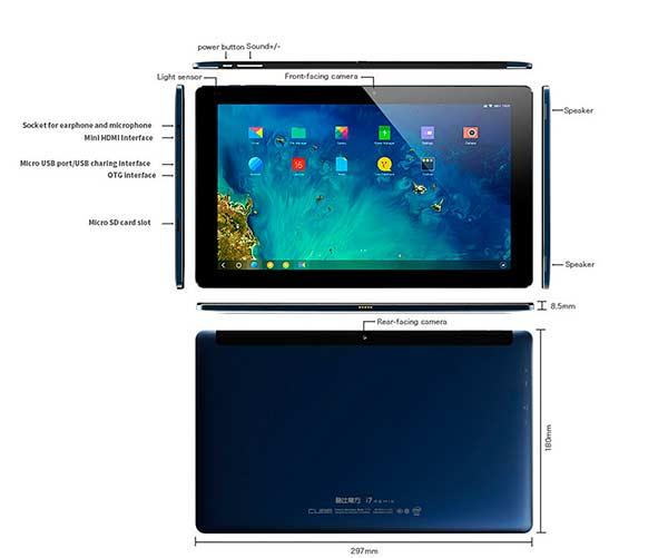 Cubo I7 Remix Tablet-Cubo-Remix- 1