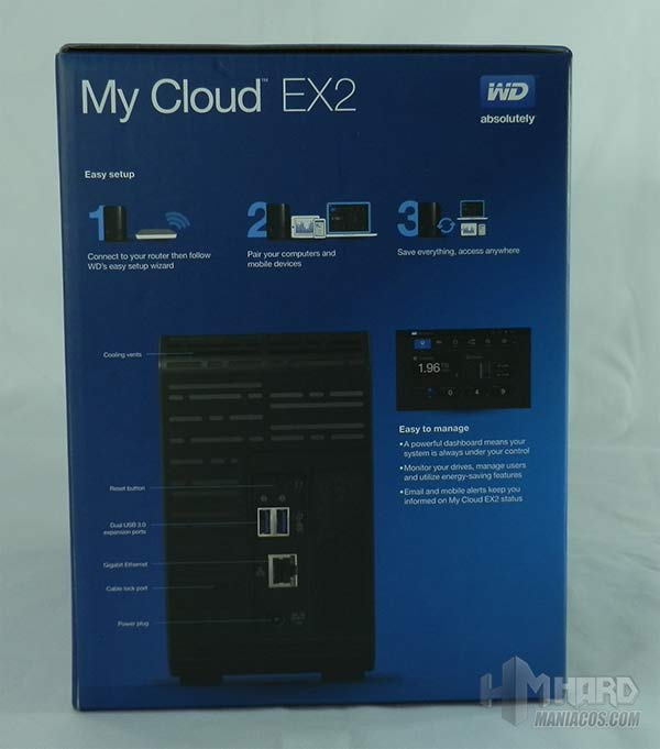 My Cloud EX2-9