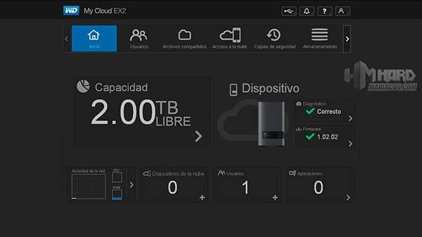 My Cloud EX2-Software-1