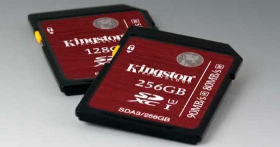 Kingston SDHCSDXC-UHS-I-U3
