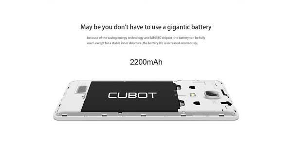 CUBOT-P11-bateria