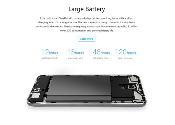 Lenovo-ZUK-Z1-bateria