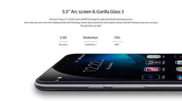 Ulefone-Be-Touch-3-pantalla