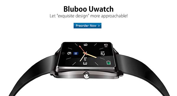 Nuevo Smartwatch Bluboo Uwatch