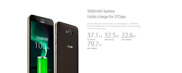 ASUS Zenfone Max 5 bateria