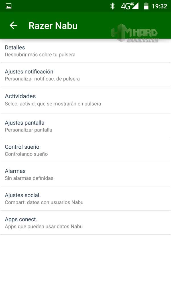 App Razer Nabu 7