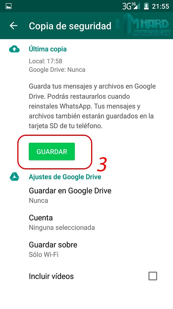 Transferir el Historial de WhatsApp android_3