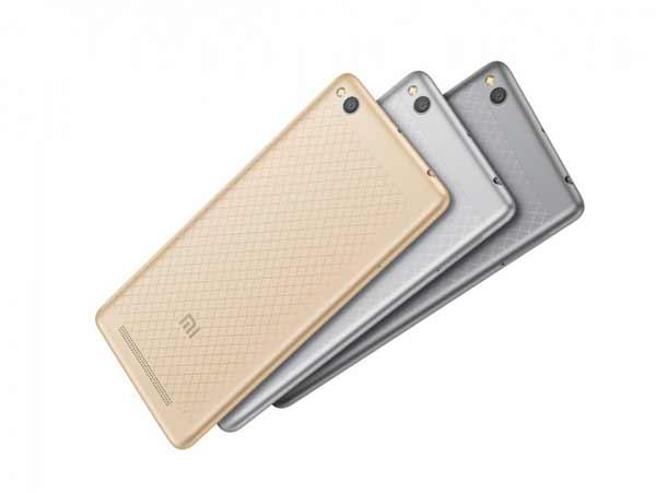Xiaomi Redmi 3 camara