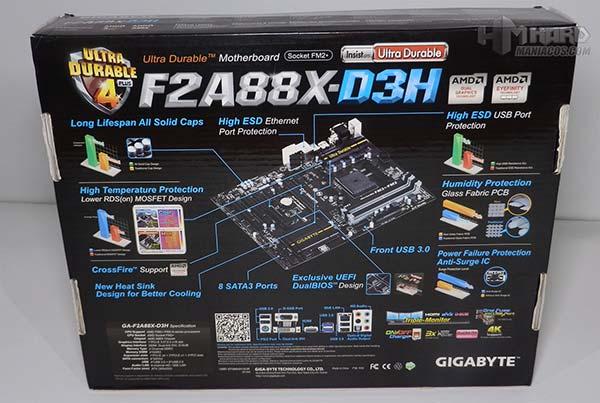 Gigabyte F2A88X D3H 4
