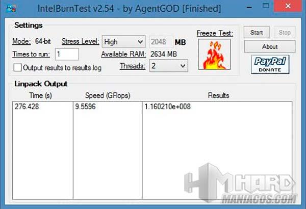 Gigabyte F2A88X D3H Test-con-OC