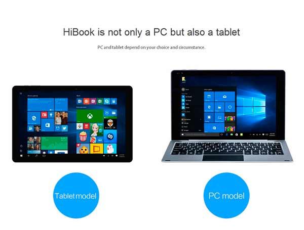 CHUWI HiBook 2 teclado