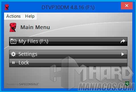 DataTraveler Vault Privacy 3.0 5