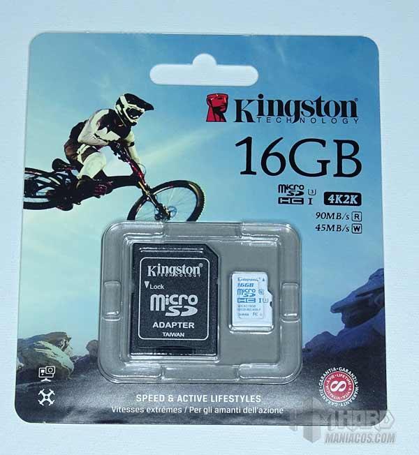 microSD Action Camera UHS-I U3 1