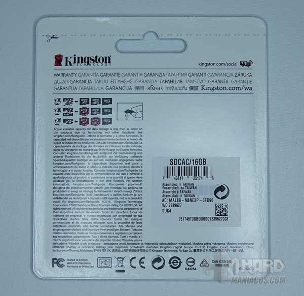 microSD Action Camera UHS-I U3 2