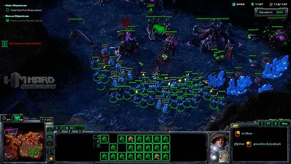 Geforce GTX 950 juego-StarCraft