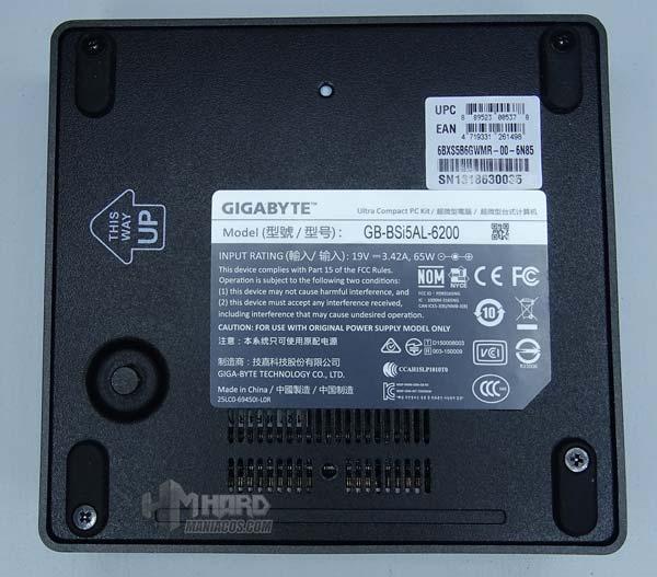 Brix Gigabyte gb-bsi5al-6200-19