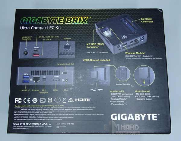 Brix Gigabyte gb-bsi5al-6200-4