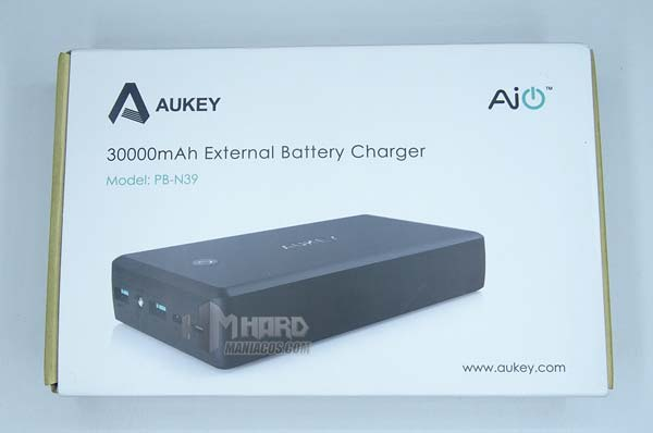 Power Bank Aukey 30.000mAh -pb-n39-1