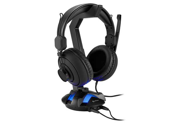 Sharkoon X-Rest 7-1 con auriculares