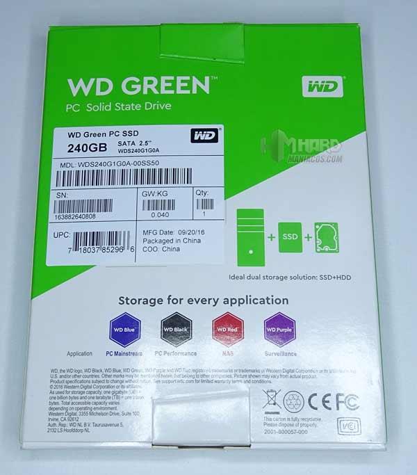 SSD SATA WD Green 2
