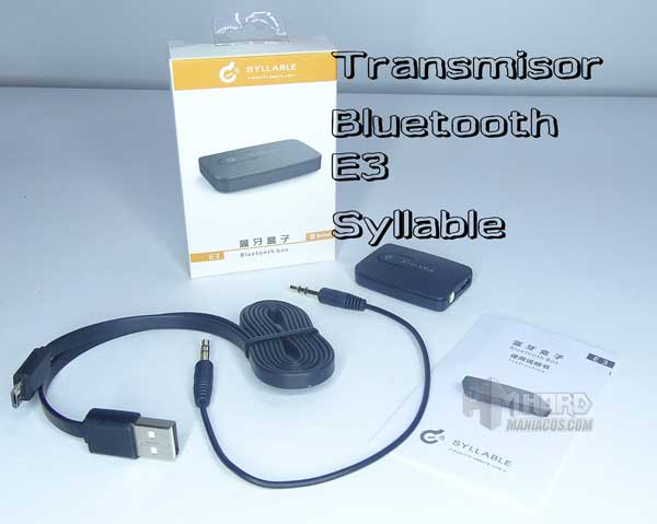 transmisor bluetooth E3
