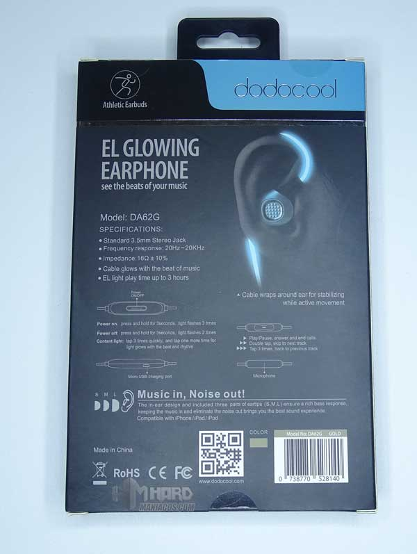 Glowing Earphone