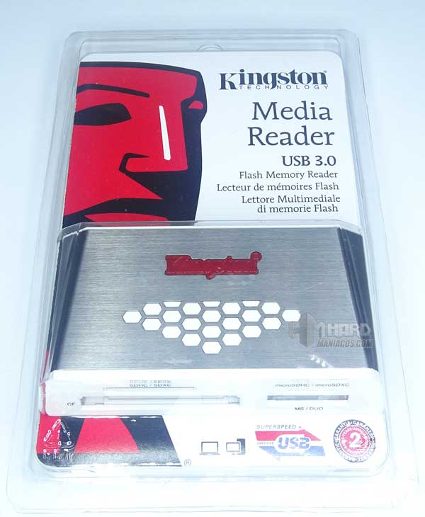lector de tarjetas de Kingston
