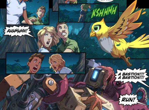 El nuevo cómic de Overwatch
