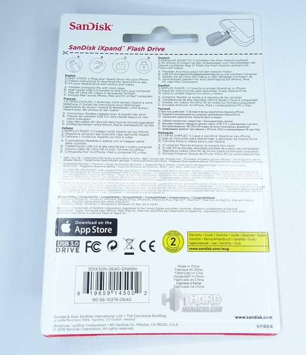 iXpand Flash Drive 2