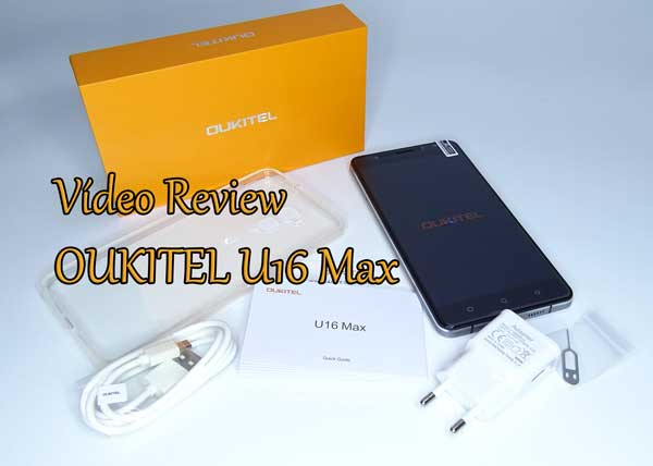 vídeo review oukitel u16 max