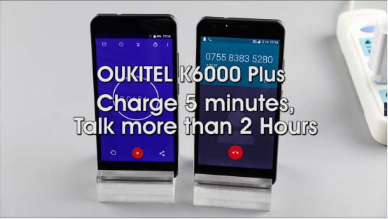 El Oukitel K6000 Plus se enfrenta a un nuevo reto