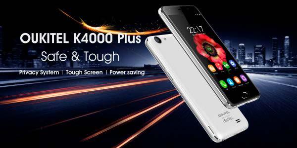El Oukitel K4000 Plus aumentará su seguridad