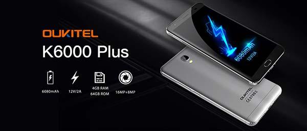 Oukitel K6000 Plus 1