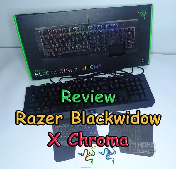 Razer Blackwidow X Chroma Portada