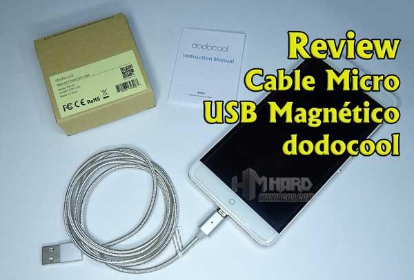 Cable Micro USB Magnético de dodocool