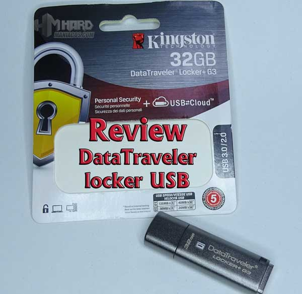 Kingston DataTraveler locker USB