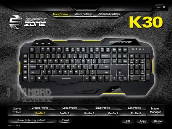 Shark Zone K30 software 1
