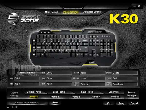 Shark Zone K30 software 2