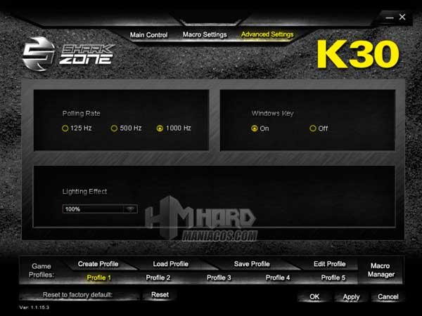Shark Zone K30 software 3