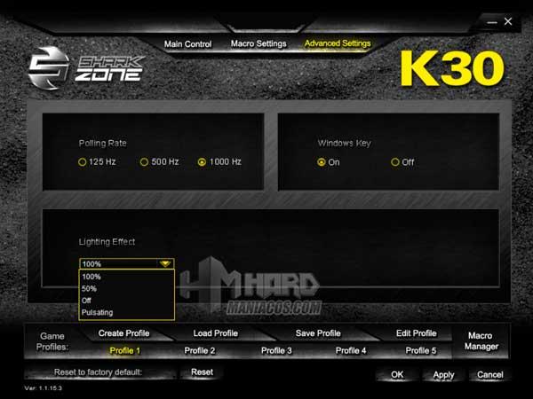 Shark Zone K30 software 4