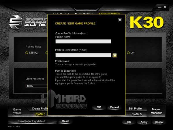 Shark Zone K30 software 5