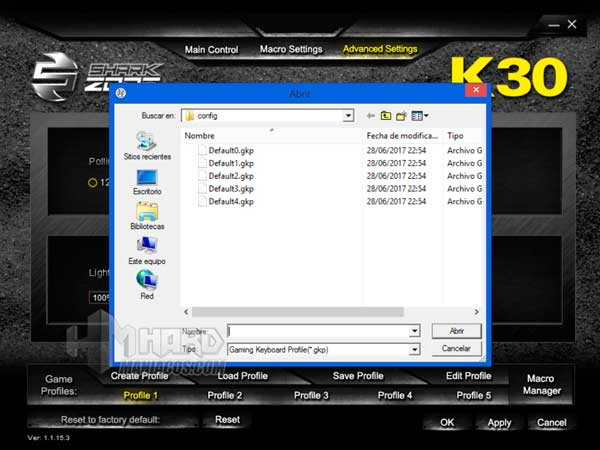 Shark Zone K30 software 6