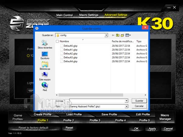 Shark Zone K30 software 7