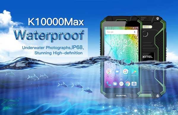 Anunciado el OUKITEL K10000 Max resistente al agua