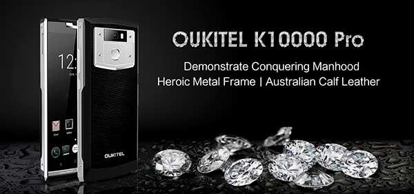 Cómo el OUKITEL K10000 Pro es puesto a prueba