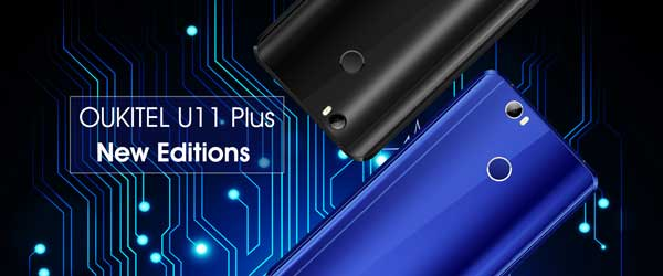 El OUKITEL U11 Plus recibe dos nuevas versiones