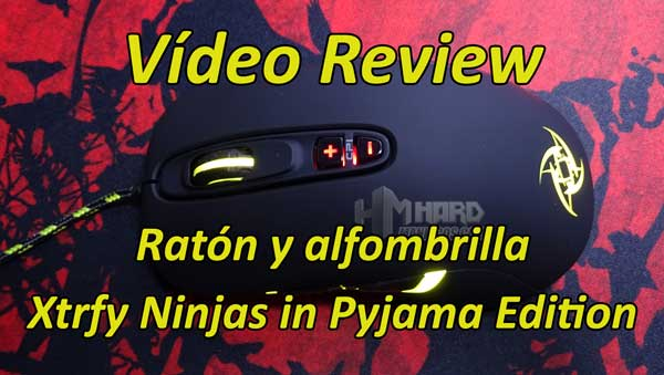 vídeo review ratón y alfombrilla Xtrfy Ninjas in Pyjama Edition