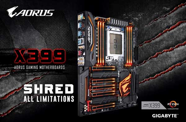 Gigabyte presenta la placa base X399 AORUS Gaming 7